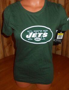 NIKE Womens Small S Slim New York NY JETS NFL T Shirt Football Mark ... a012a924e