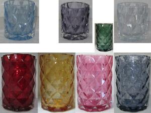 Yankee-Candle-Large-Jar-Holder-or-Votive-Holder-Fractal-New-u-pick-size-color