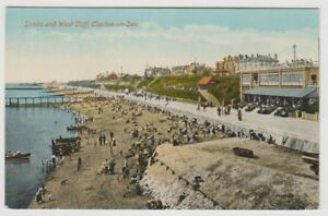 Essex-postcard-Sands-and-West-Cliff-Clacton-on-Sea-A293
