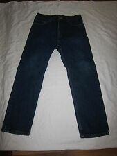 Awesome Levi's 505 Regular Fit Straight Leg 100% cotton men jean W 34 x 30 L.USA