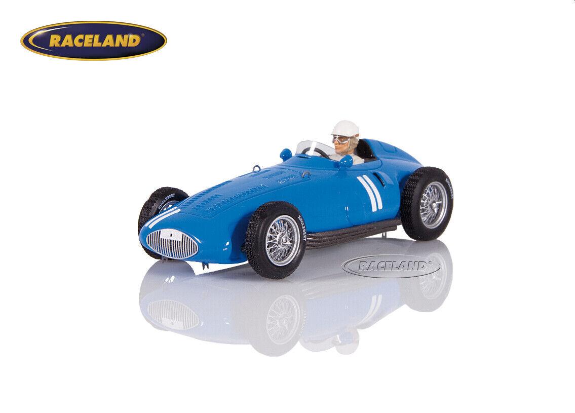 GORDINI t32 8-zyl. f1 GP Allemagne 1956 André MILHOUX, SPARK 1 43, s5314