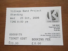 MIKE WESTBROOK VILLAGE BAND PROJECT - THE KEAY THEATRE ST AUSTELL UK 25.10.06