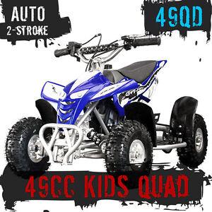 Details about NEW 49CC STARTER MINI QUAD BIKE ATV BUGGY KIDS 4 WHEELER  POCKET PIT DIRT BIKE