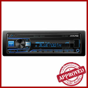 Alpine-UTE-200BT-Autoradio-Stereo-USB-AUX-Bluetooth-2-Pre-Out-Illuminazione