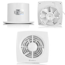 6 Inch 150mm Ventialting Wall Mounted Bathroom Ceiling Exhaust Fan  116CFM 174CFM