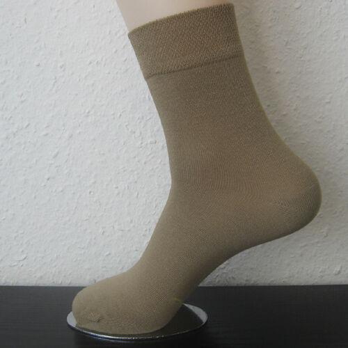 3 paire femmes bambou chaussettes sans caoutchouc extra softrand 3 tons 35 à 42