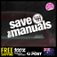 SAVE-THE-MANUALS-DECALS-JDM-STICKERS-ILLEST-195x73mm-4X4-4WD-HILUX-JDM0020 thumbnail 1