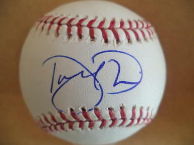 Baseball W/coa Autographs-original Darren Oliver Cardinals/mets/rockies/red Sox Signed Auto M.l