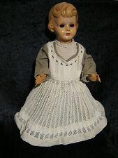 Seltene Storch Puppe, Größe 57, zum Restaurieren, aus Sammlungsauflösung