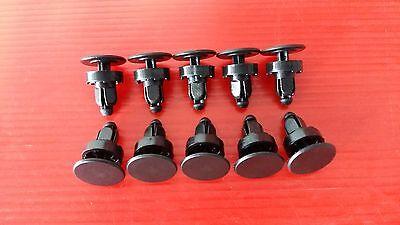 92-00 Honda Civic EG EH EJ EK EM CR-V Del Sol Odyssey Cowl panel lock clip 10x