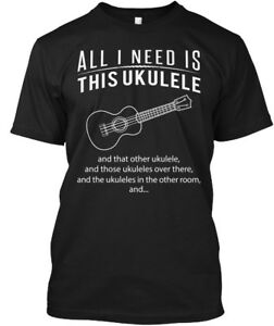 Special-Ukulele-All-I-Need-Is-This-And-That-Other-Hanes-Tagless-Tee-T-Shirt