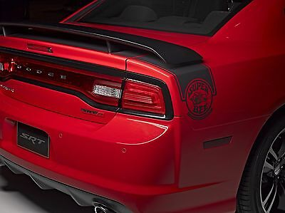 #501 PRIMER FACTORY STYLE SPOILER fits the 2010-2015 DODGE CHARGER