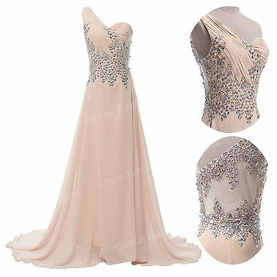 ELEGANT Long Mother Of The Bride Dress Evening Wedding Gown Bridesmaid Dresses 1