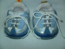 Build a Bear Blue SKETCHERS Sneakers Tennis Shoes w/ Silver Acent Age 3+