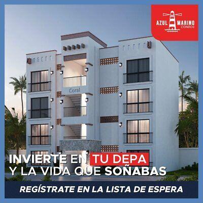 Departamento en Venta Azul Marino Condos en Mazatlán, Sin. 2 Recámaras