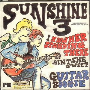SUNSHINE-3-I-Saw-Her-Standing-There-1987-VINYL-SINGLE-7-034-BEATLES-SONG