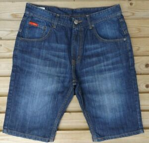 Men-s-New-LEE-COOPER-Denim-Shorts-in-10-Colour-Options-Authentic