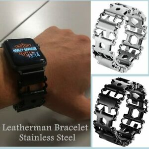 Stainless Steel Watch Band Multifunction Tool Strap For Apple Watch Series 5 4 2 Ebay
