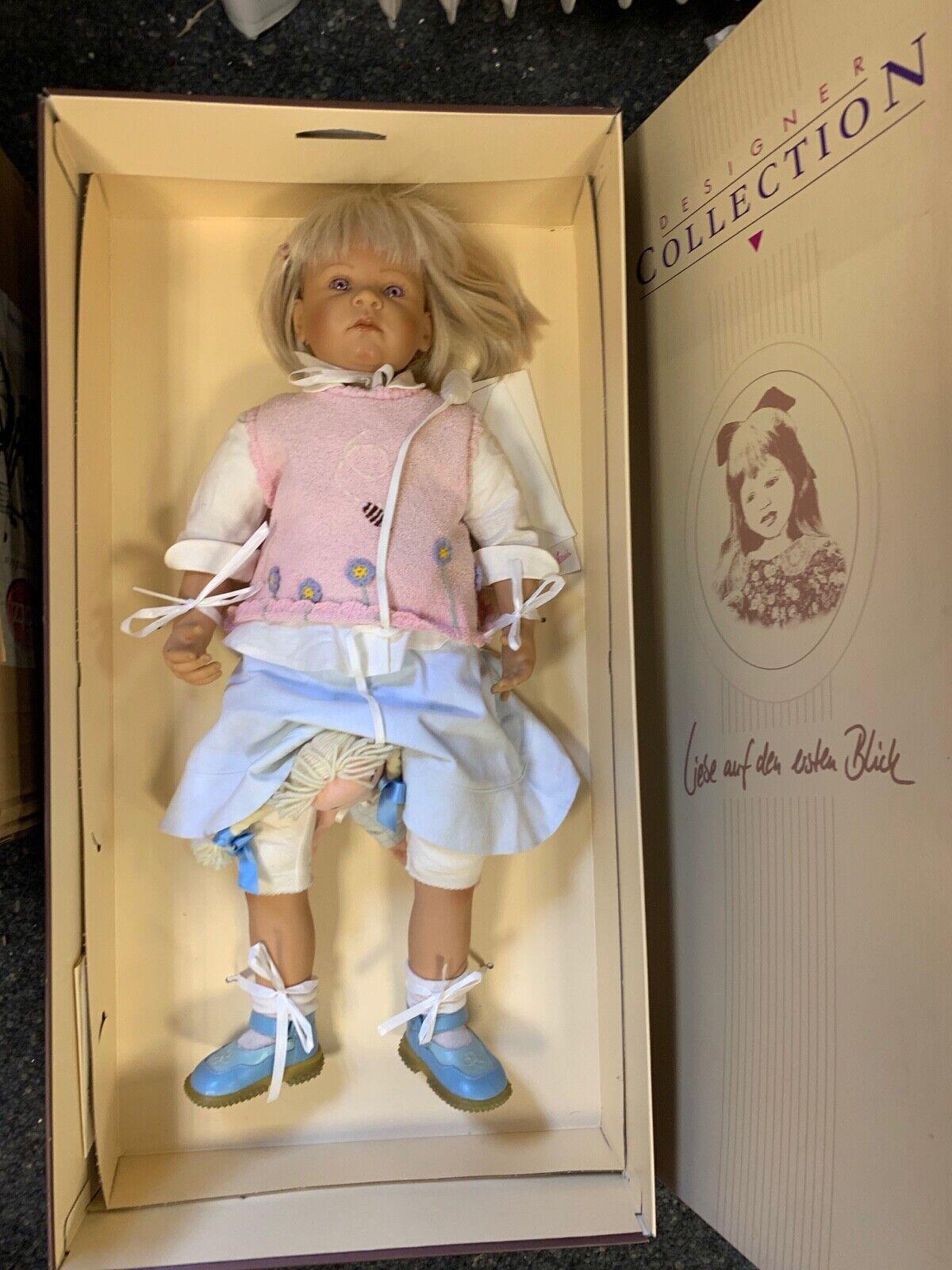 Bettine Klemm Vinyl Doll 74 cm. Top Zustand