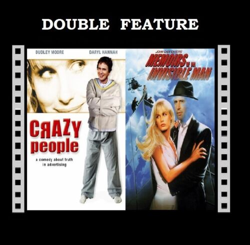 1 of 1 - Crazy People ( Daryl Hannah Dudley Moore) Invisible Man ( Chevy Chase ) DVD