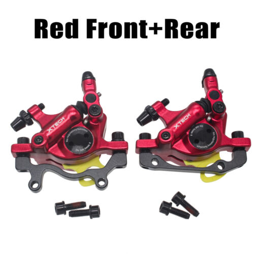 ZOOM XTECH HB100 MTB Line Pulling Hydraulic Disc Brake Calipers Front /& Rear