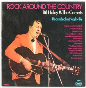 Bill-Haley-And-His-Comets-Rock-Around-The-Country-Vinyl-Record-USED