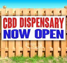 Cbd Dispensary Now Open Advertising Vinyl Banner Flag Sign Many Sizes