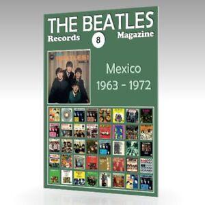 The-Beatles-registros-Revista-N-8-Mexico-1963-1972-guia-de-color-completo