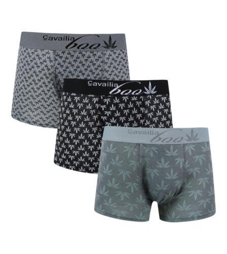 3-6-12 Pack Pieces Men/'s Underwear Trunks Cotton Rich Boxer Shorts Soft S M L XL