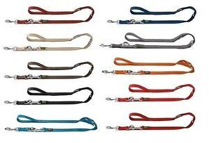 Hunter-Regulable-Correa-de-Adiestramiento-Aus-Polyamidgurt-Muchos-Colores-Entre