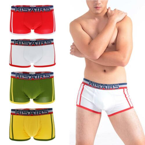 NEW MENS LOW RISE BRIEF COTTON BOXER TRUNKS PANTIES UNDERWEAR XMAS GIFTS