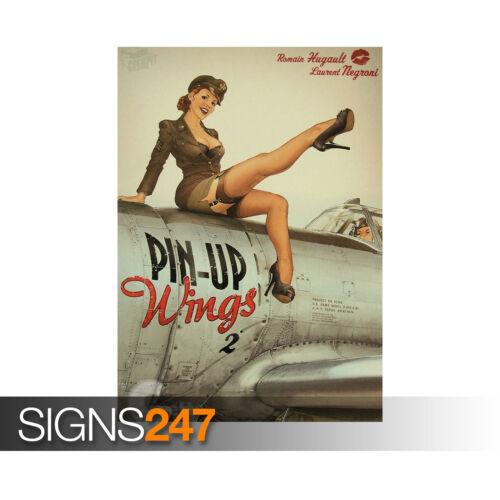 ROMAIN HUGAULT PIN UP GIRL VINTAGE Photo Poster Print Art A0 A1 A2 A3 A4 1227