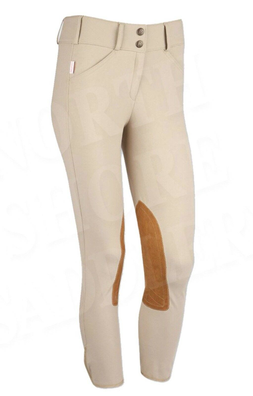The Tailored Sportsman Girl's Trophy Hunter Breeches Tan