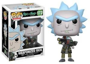 Funko-Rick-and-Morty-Figurine-Weaponized-Rick-Pop-Vinyl-Action-Figure-New