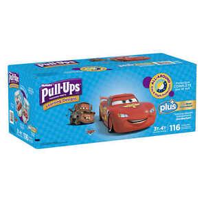 Huggies Pull-Ups Potty Training Pants Boys 3-4T 116 Ct Diapers