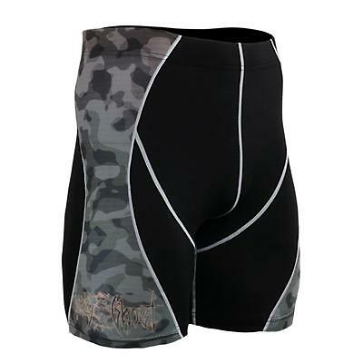 FIXGEAR P2S-B45 Compression Shorts Skin Tights MMA Workout Fitness Crossfit GYM