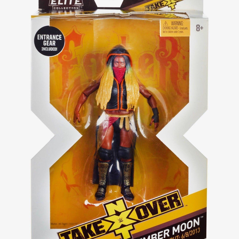compras online de deportes Wwe Wwe Wwe Ember Luna Mujer Accesorios Wwf Nxt Elite mattel Figura de Acción Lucha  en venta en línea