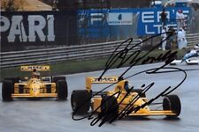 Donnelly & Warwick  SIGNED, Lotus-Lamborghini 102 , San Marino GP  Imola 1990