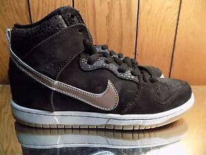 Nike Dunk High Premium SB SOMP NIGEL SYLVESTER BLACK NEW GUM 635535-001 DS 10.5