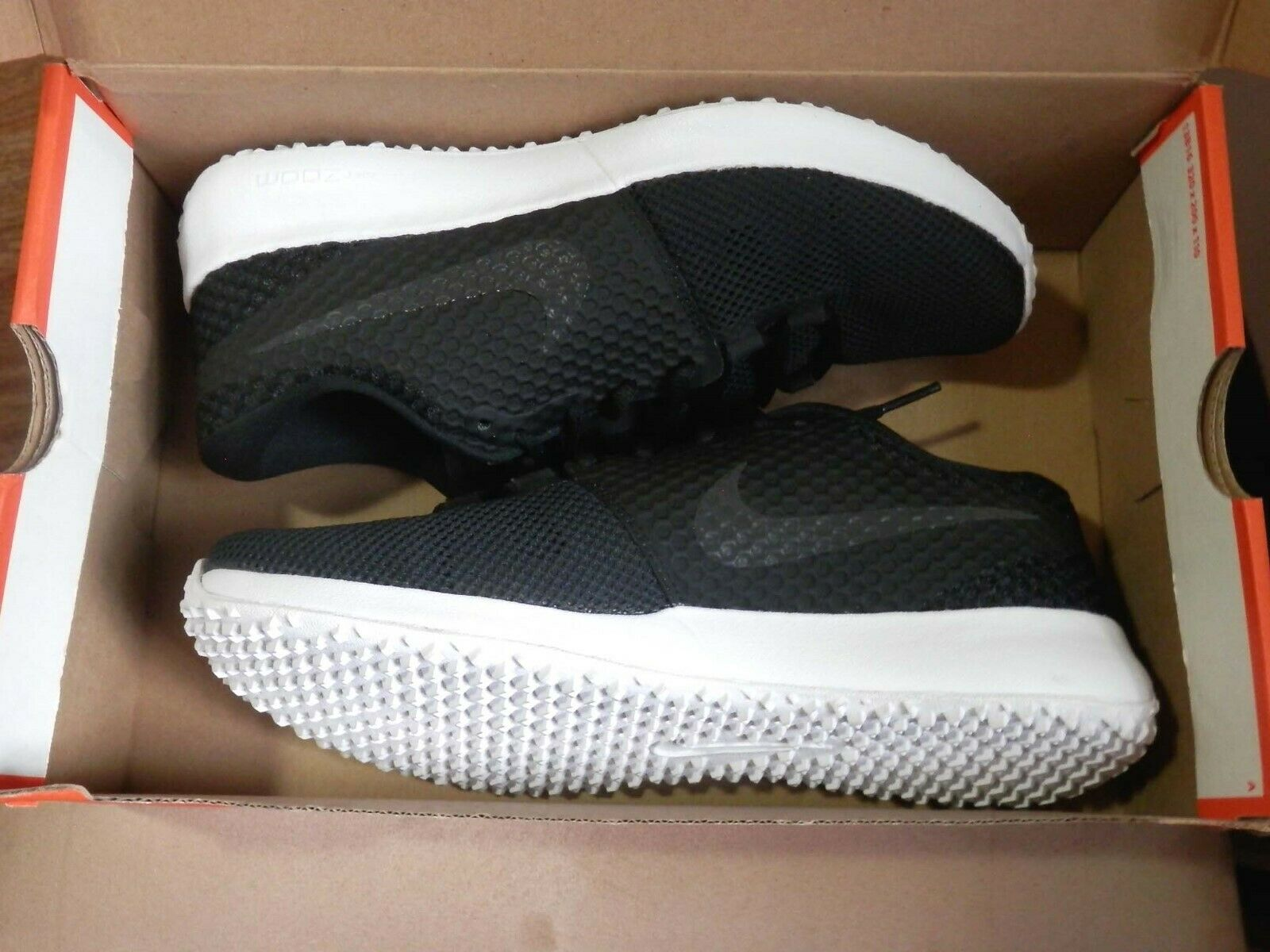 NEW Mens NIKE Zoom Speed TR2 TB BLACK Running Training Sneakers SZ 7.5  725181
