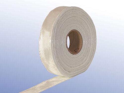 Glasgewebeband 280 g//m² 5 cm breit Filament-Gewebeband Epoxy Polyesterharz GFK