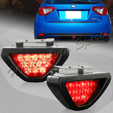 F1 Style 12 Red LED Red Lens Bolt On Rear 3rd Brake Light Stop Lamp Universal 4