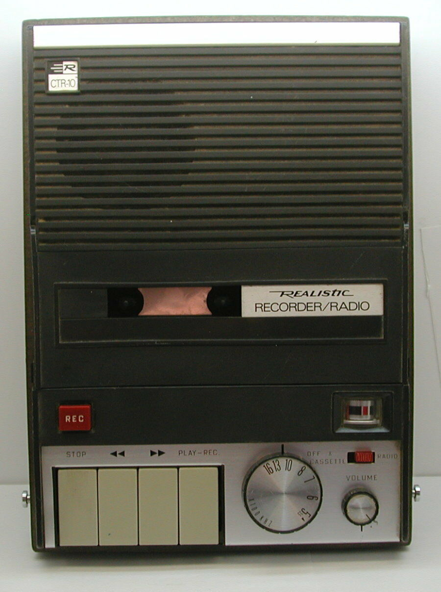 Realistic Recorder/Radio CTR-10 Working  R14445