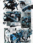 BATMAN MASTER OF THE FUTURE Pg #7 HAND COLORED PRINT GUIDE Barreto & Steve Oliff