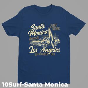 Surf Retro T-shirt Designs 10 Surf-Santa Monica