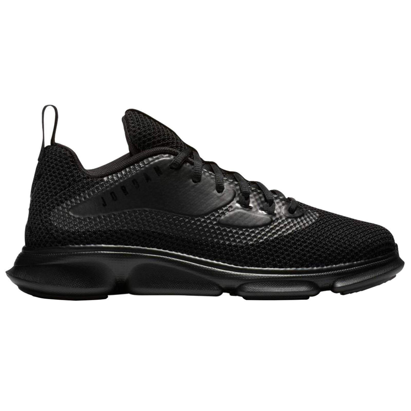 b060f65f19 Nike Jordan Impact Training Black Mens Mesh Lace-up Trainers ...