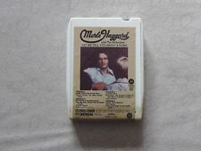 Merle Haggard Let Me tell You About a Song 8 Track Tape 1972 Capitol # 8XT882