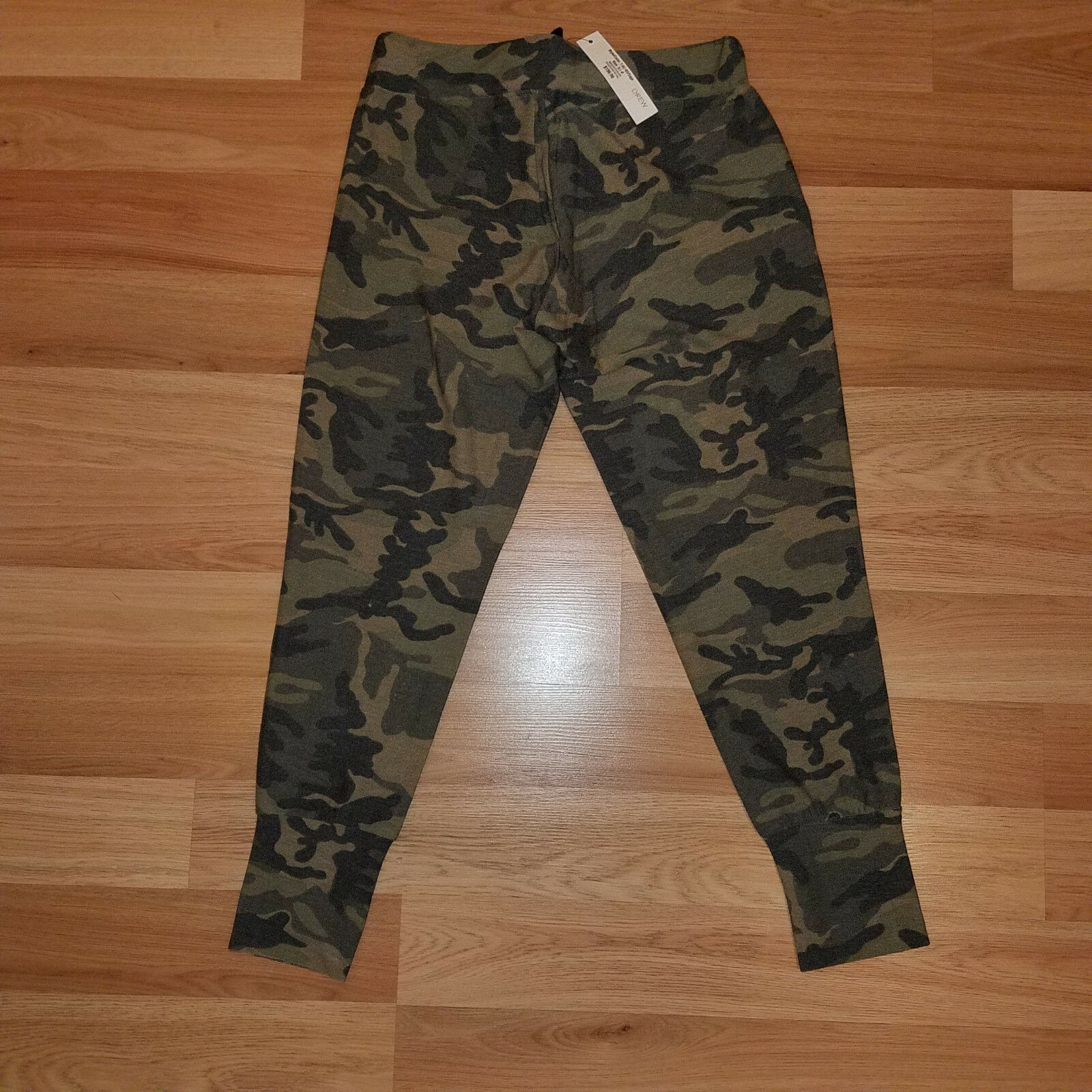 New DREW women sports pants joggers camouflage S MSRP  156
