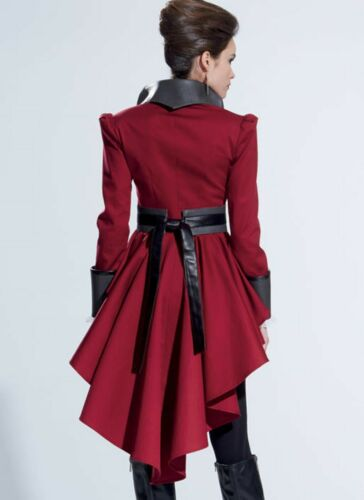 Mccalls patrones de corte m7641-chaqueta-Mantel-cosplay LARP-steampunk