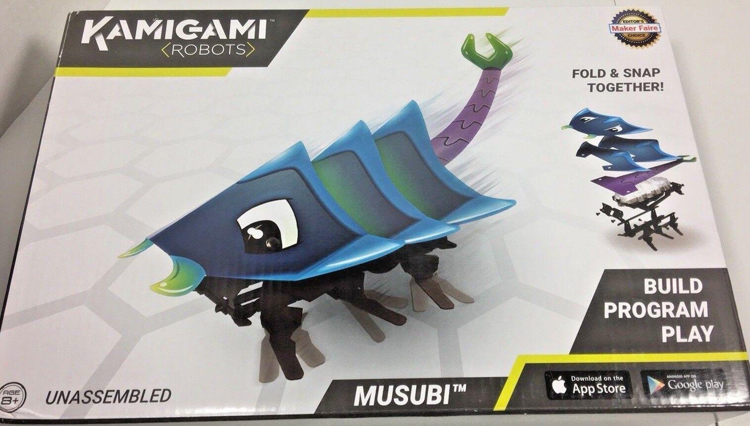 Mattel Kamigami Musubi Robot - Build Program Play - Fold & Snap -  3